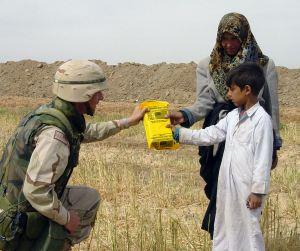 US navy humanitarian aid